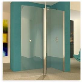 Uniarc 1500 curved frameless wet room shower door for 1500 shower door