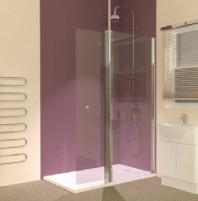 3 Sided And L Shaped Walk In Shower Enclosures With Trays