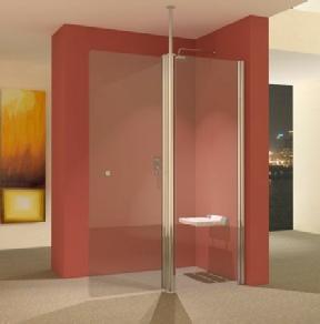 wet room shower screens from unishower hinged wet room shower glass panels