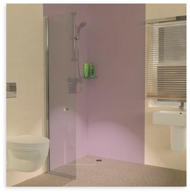 UniClosure 500 Hinged Wet Room Shower Screen
